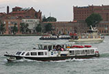 Water bus lines Venice
